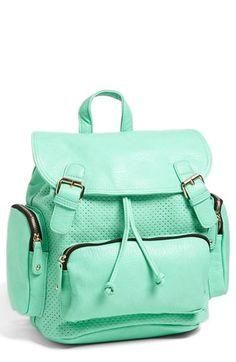 Street Level Backpack in #mint ! Get 5% cash back: http://www.studentrate.com/lakeforest/get-lakeforest-student-deals/Nordstrom-Student-Discounts--/0