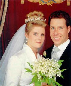 In 1993 the Hon. Serena Stanhope was loaned by her future mother-in-law Princess Margaret, the same tiara Catherine wore on Dec 3, 2013 to Buckingham Palace.