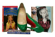 Bid for a pair of Chelsey Handler's heels. Also, check out ShoesTV's carpet crashing of the Hillsides Foster Soles Celebrity Shoe Auction here: http://shoes.tv/dr-drews-hillsides-foster-soles-91051