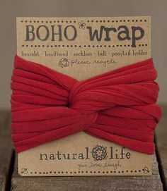 So many fun ways to wear this boho wrap boho hair accessories