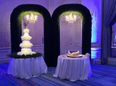 Claire + James | Wedding Cakes | @fsdallas