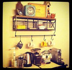 Coffee bar - breakfast room!