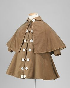 Boy's Coat 1895, American, Made of cotton, wool, and silk
