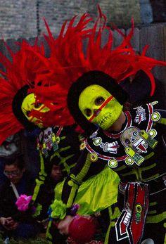 #dia #de #muertos #day #dead #costume #parade #carnival