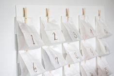 Cute count down idea!