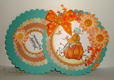 "Sassy Raggedy: Tammy's Scrapin Corner Challenge #30 ""Fall Colors"""