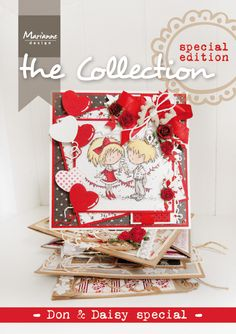 Collection Don & Daisy special with lots of inspiration around the Don & Daisy stamps from Marianne Design