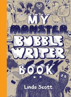 Crafts for kids: My Monster Bubble Writer Book is fun for Halloween or any time.