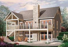 Petit chalet rustique, très confortable, 2+ chambres, cuisine avec îlot, grande terrasse http://buff.ly/1vQR66E