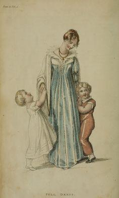 1810 - Ackermann's Repository Series1 Vol 4 - September Issue Full Dress