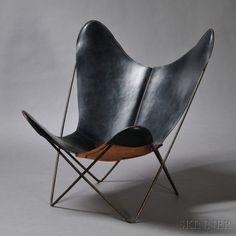 Butterfly Lounge Chair.   Jorge Ferrari-Hardoy, Bonet & Kurchan, Knoll