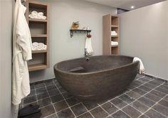 Badkamers on pinterest vans bathroom and toilets - Klein design badkuip ...