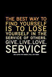 Service quote.