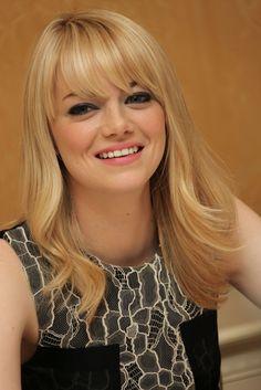 Emma Stone, blonde