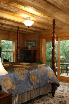 Class setting in a log home