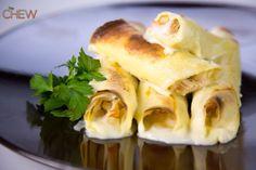 Mario Batali's Chicken Cannelloni recipe #thechew
