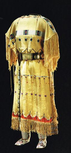 Native American Plains Indian dress.