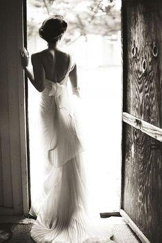 Stunning Vera Wang gown, shot by Nancy Neil.