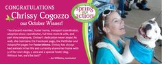 Congrats to our #October Spring Into Action winner, Chrissy Cogozzo!