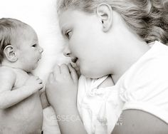 sweet sibling / newborn shot.