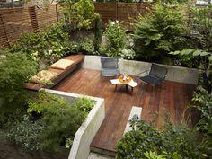 backyard patio in London