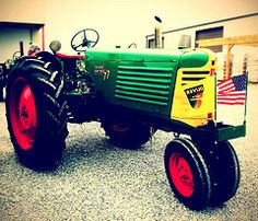 Theres a spot in my heart for old tractors... right beside the spot for old trucks.