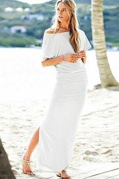 Off the Shoulder Maxi Dress, Victoria's Secret