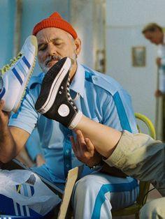 The Life Aquatics with Steve Zissou: Bill Murray, Adidas.
