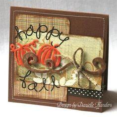 Happy Fall card by DanielleF