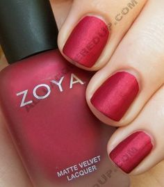 Matte nail polish - Love!  [Zoya Matte Velvet Review and Swatches | All Lacquered Up]
