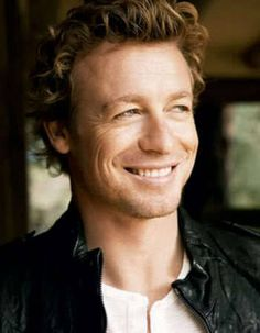 Simon Baker- he has the most infectious smile