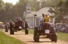 Prairie Village near Madison, South Dakota is a great place to take the family. It's a living museum of the past.