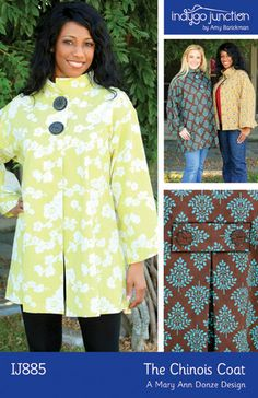 Indygo Junction Chinois Coat