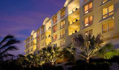Hyatt Siesta Key, Florida! This property is beachfront and has one of the top 10 beaches in the world.  Enjoy the days on the beach,  reclining on the double chairs poolside, and in the shade of our own cabana. complete with flat screen TV's.  Cool Feature: heated BLUE toilets, instant expresso makers, and fog proof mirrors. April 2012 here I come!