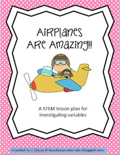 Do your students love to make paper airplanes? Then channel that energy with this STEM activity in which kids learn about variables while throwing planes!!