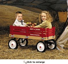 hors, red wagonstm, birthdays, bright red, countri wagon, radio flyer, scooter, country, flyer wagon