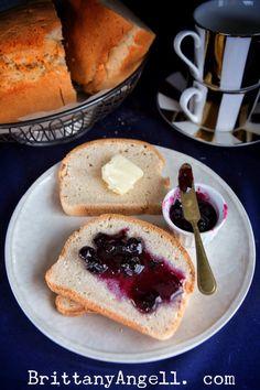 Worlds Best Paleo Sandwich Bread! (Gluten/Grain/Dairy/Nut/Yeast Free) - Brittany Angell