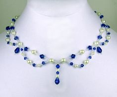 Free pattern for necklace Tori