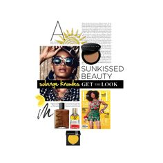 """Get the Look: Sunkissed Beauty Edition"" by cultofsharon on Polyvore"
