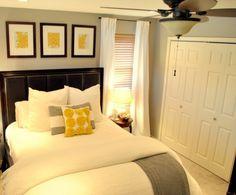 small bedrooms, color schemes, guest bedrooms, gray bedroom, wall color, master bedrooms, guest rooms, bedroom designs, bedroom color