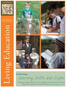 2012 Fall Living Education Journal from Oak Meadow: Homeschooling Curriculum, Resources, and Support