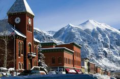Telluride, Colorado.   This quiet, retired mining town may have you thinking twice about quitting your job, packing only the necessities and getting off the grid.  With towering peaks and a main street you only see in the movies, Telluride is a true Colorado gem.