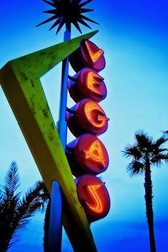 Old Las Vegas sign