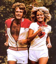 Farrah Fawcett & Lee Majors, 1977