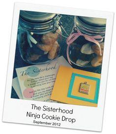 sisterhood ninja, ninja cooki, cooki drop, bake cooki