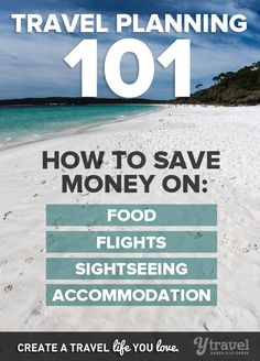 Learn how to travel for 2 weeks, 2 months, or 2 years without spending a fortune!