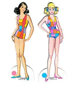 Vintage Barbie & Francie