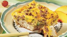 sausag quich, sort, quiches, oooh, bell peppers, fun recip, green peppers, quiche recipes, biscuit
