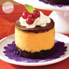 No-Bake Pumpkin Cheesecake Minis