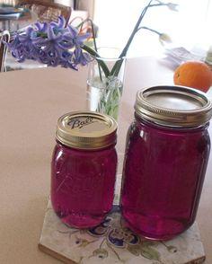 homemade Violet Jam